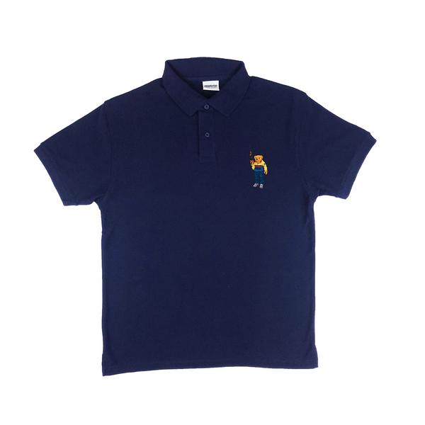 Bear Arms Polo (Navy)