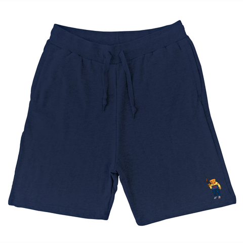 Bear Arms Sweat Shorts (Navy)