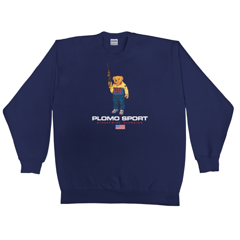 Bear Arms Crew Neck (Navy)