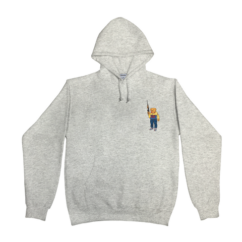 Bear Arms Hoody (Grey)