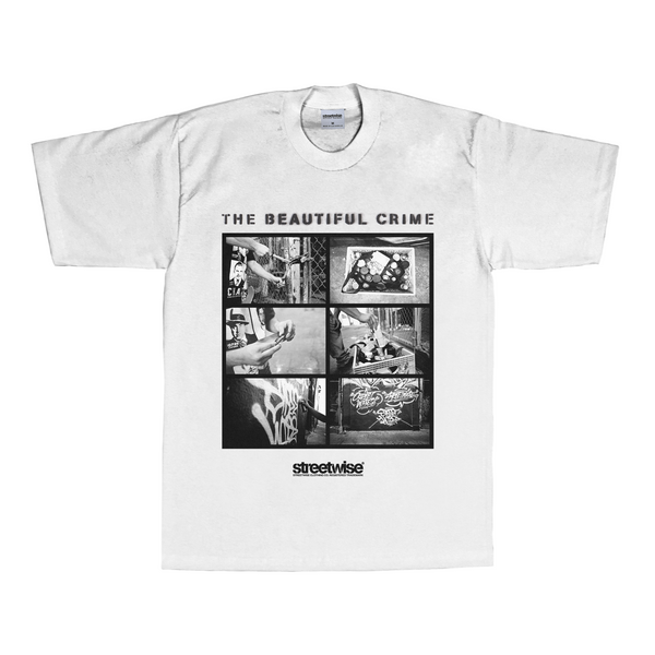 The Beautiful Crime T-Shirt (White)