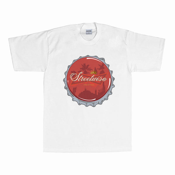 Beer Cap T-shirt (White)
