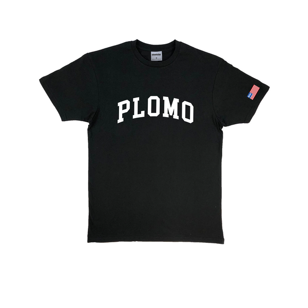 Block Letters Premium Cotton T-Shirt (Black)