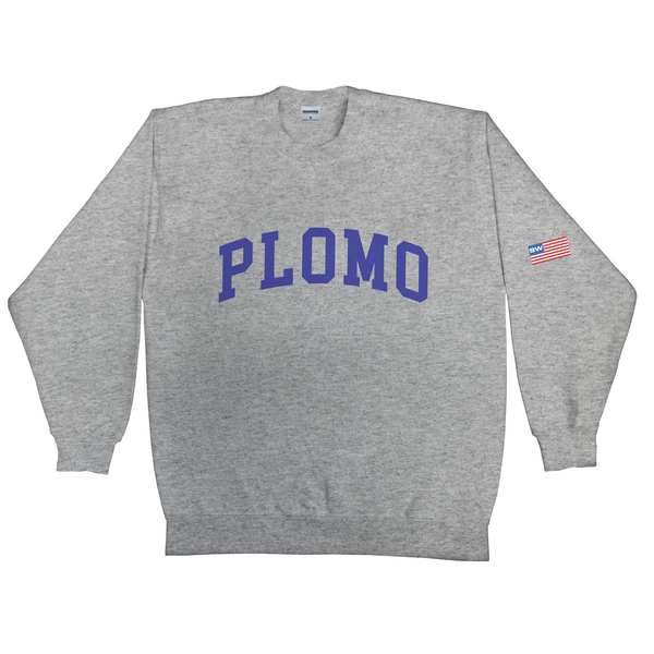 Block Letters Crew Neck (Grey)