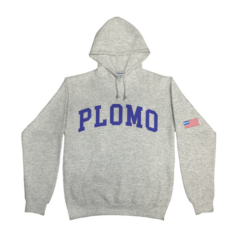 Block Letters Hoody (Grey)