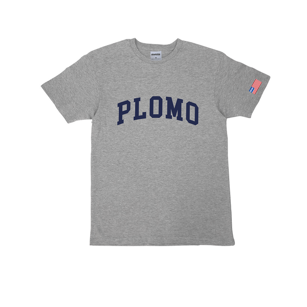 Block Letters Premium Cotton T-Shirt (Grey)