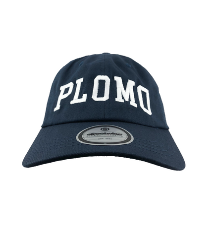 Block Letters Dad Hat (Navy)