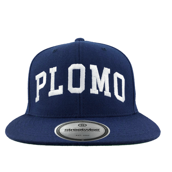 Block Letters SnapBack (Navy)