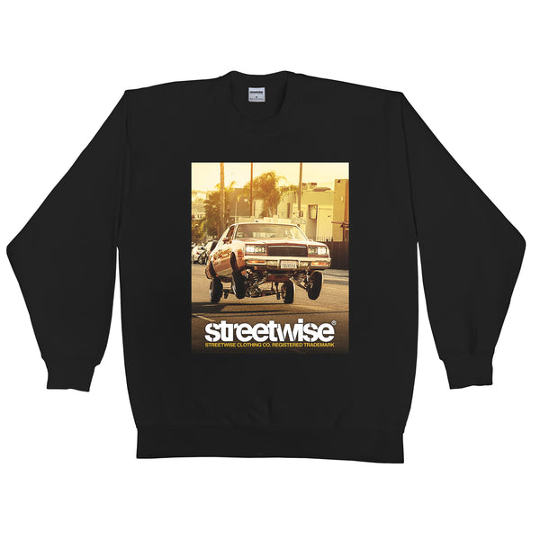 Bounce Crewneck (Black)