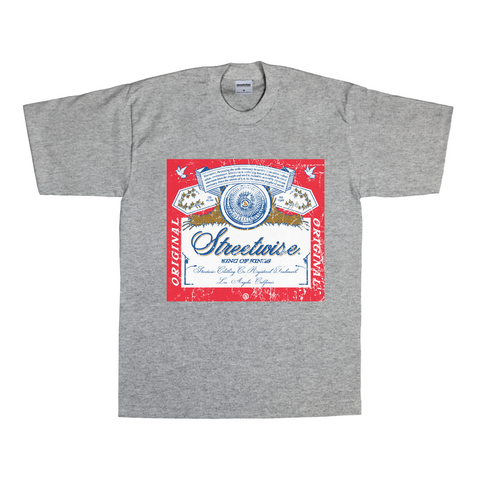 Bud Label T-Shirt (Gray)