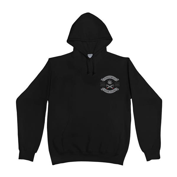 Burn Slow Hoody (Black)