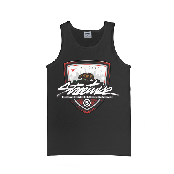 California Shield Tank (Black)
