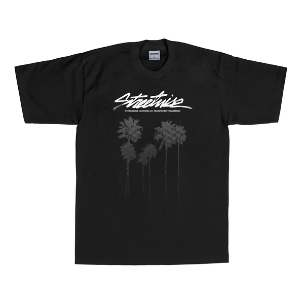 Cali Trees T-Shirt (Black)