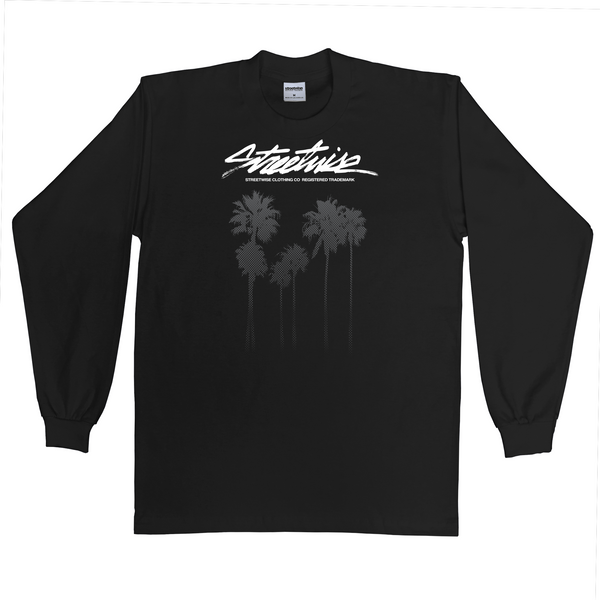 Cali Trees Long Sleeve (Black)
