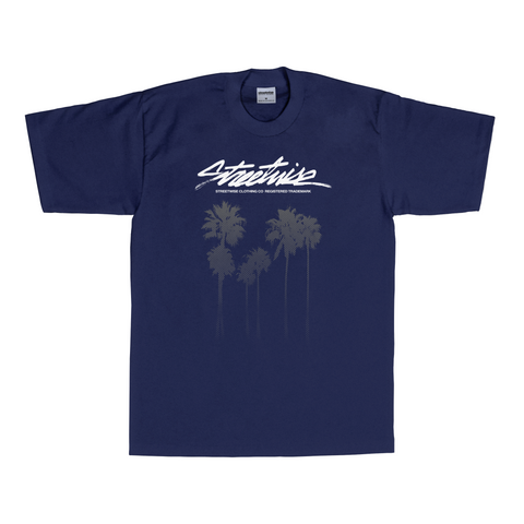 Cali Trees T-Shirt (Navy)