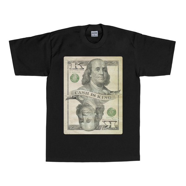 Cash is King T-Shirt (Black) | Men's Tops | Streetwise Clothing