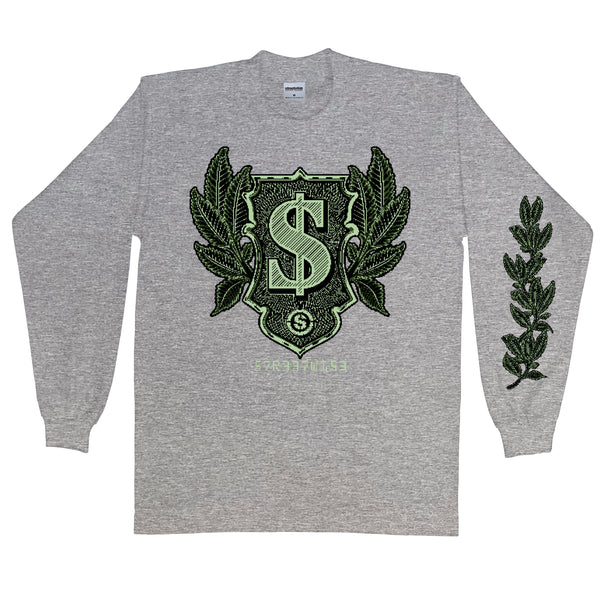 Cash Crop Long Sleeve (Gray)