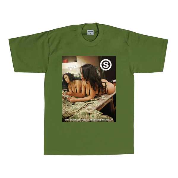 Cash Out T-Shirt (Olive)
