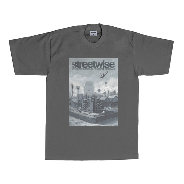Crate Diggers T-Shirt (Charcoal)