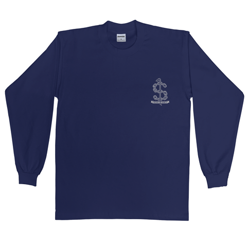 Crow Bar Long Sleeve (Navy)