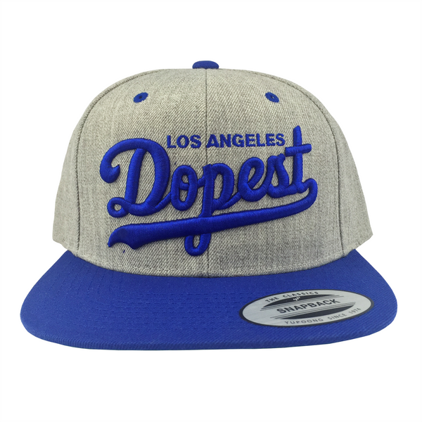 Dopest Snapback (Gray & Royal) | Classics | Streetwise Clothing