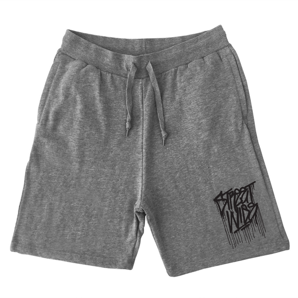 Drips Sweat Shorts (Gray)