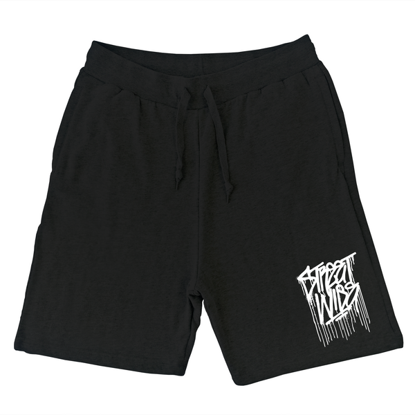 Drips Sweat Shorts (Black)