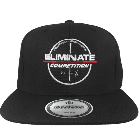 Competition Snapback (Black)