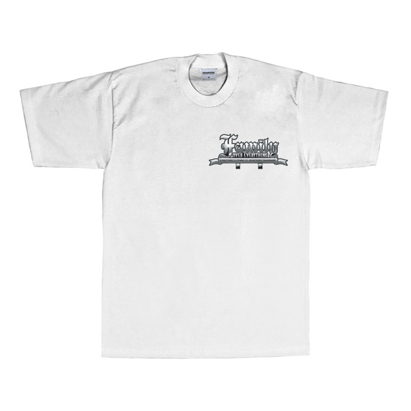 Family Over Everything T-Shirt (White)
