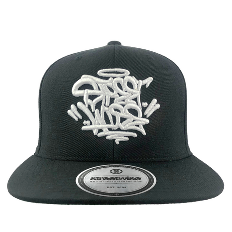 Fat Caps Snapback (Black)