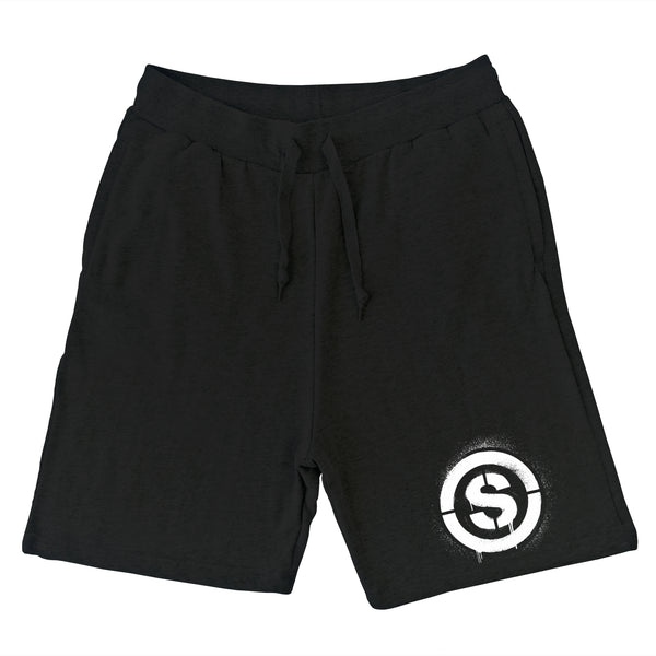 Heartless Sweat Shorts (Black)