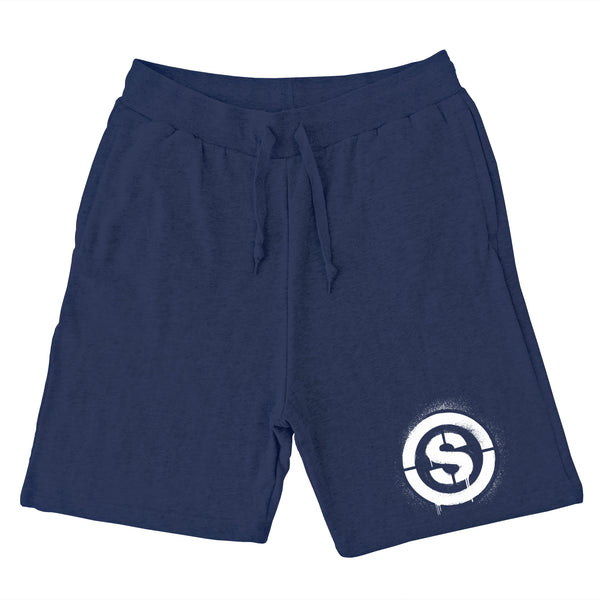 Heartless Sweat Shorts (Navy)
