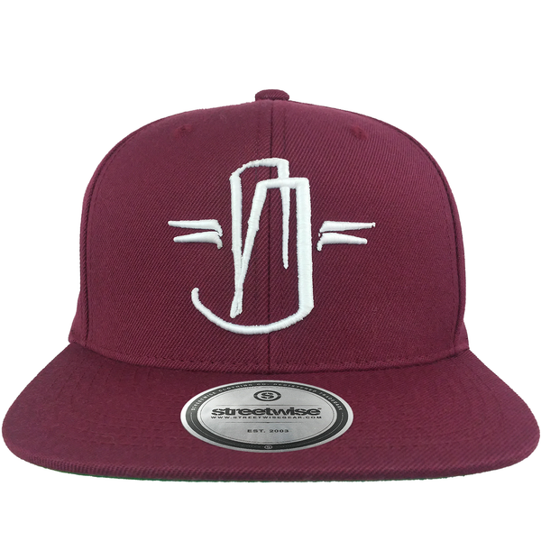 Hit Up Snapback (Burgundy)