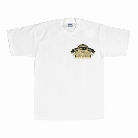 Hold it Down T-Shirt (White)