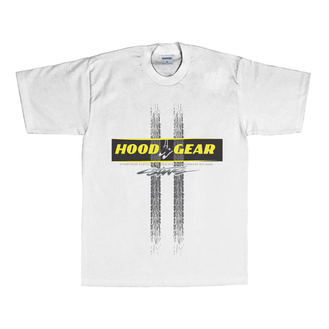 Hood Gear T-Shirt (White)