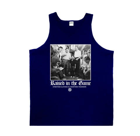 In The Game Tank (Navy)