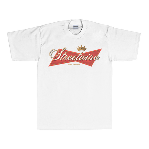 King of Kings T-Shirt (White) | Classics | Streetwise Clothing