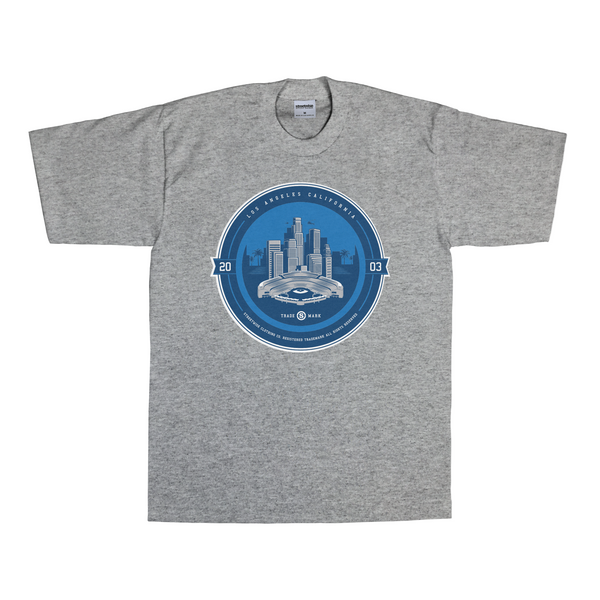 LA All Day T-Shirt (Gray) | Classics | Streetwise Clothing