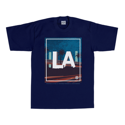 LAX T-Shirt (Navy) | Spring 2016 | Streetwise Clothing