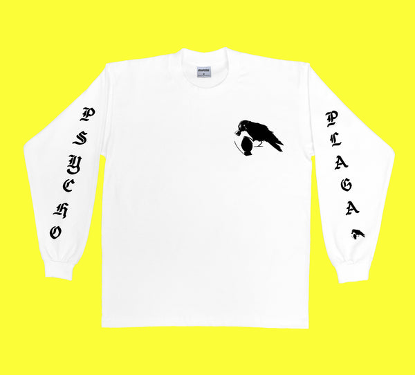 Psycho Plaga Long Sleeve (White)