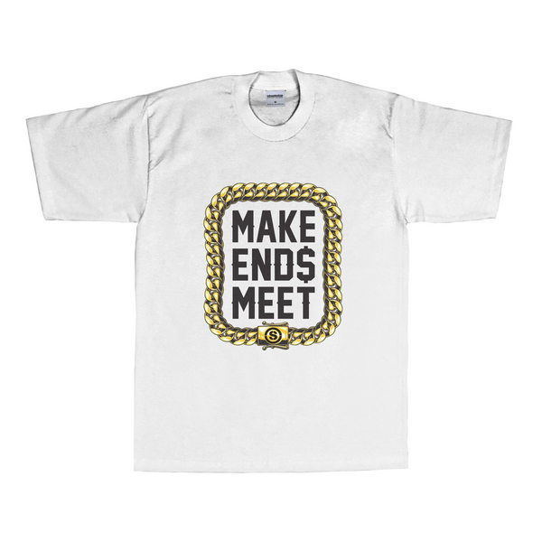 End$ Meet T-Shirt (White)