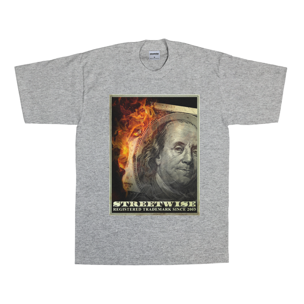 Money 2 Burn T-Shirt (Gray)