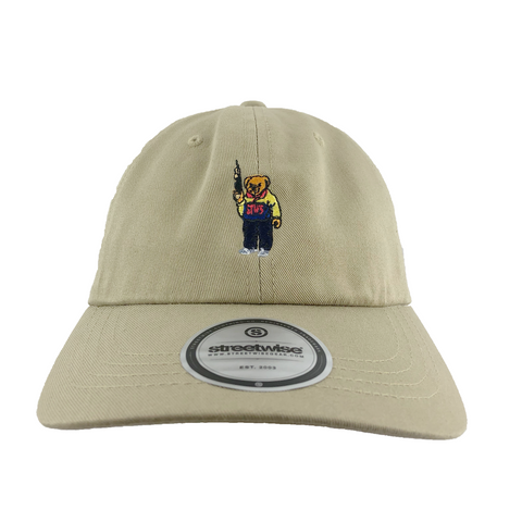 Bear Arms Dad Hat (Khaki)