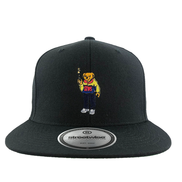 Bear Arms SnapBack (Black)