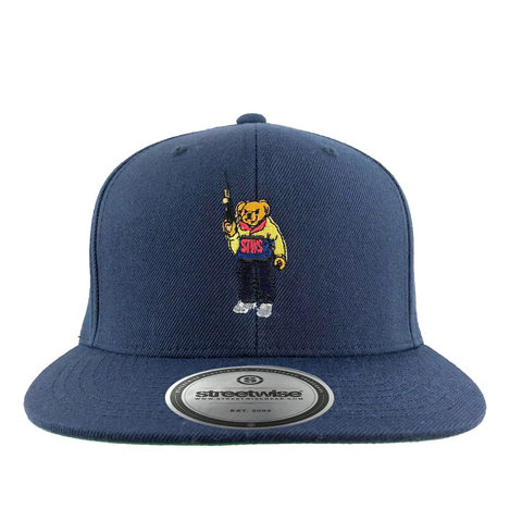 Bear Arms SnapBack (Navy)