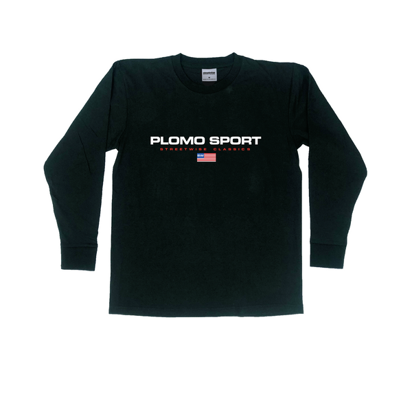 Plomo Sport Long Sleeve Shirt (Black)