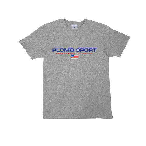 Plomo Sport Premium Cotton T-Shirt (Grey)
