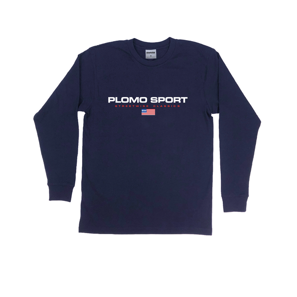 Plomo Sport Long Sleeve Shirt (Navy)