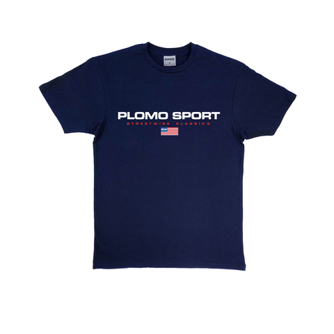 Plomo Sport Premium Cotton T-Shirt (Navy)