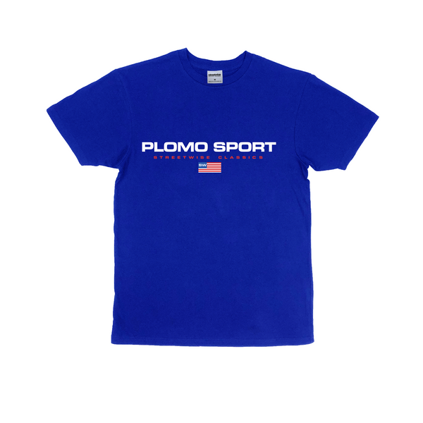 Plomo Sport Premium Cotton T-Shirt (Royal)